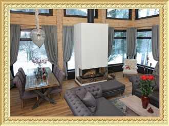 Заказ штор в коттедж и загородный дом